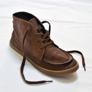 Rocket Dog Lace Up Bootie Ankle Brown Boots 6 NWOB